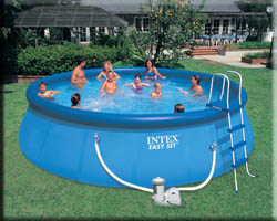 Intex for your recreational times easy set pools for Piscina 10000 litros